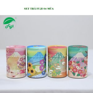 Set trà Fuji 4 mùa